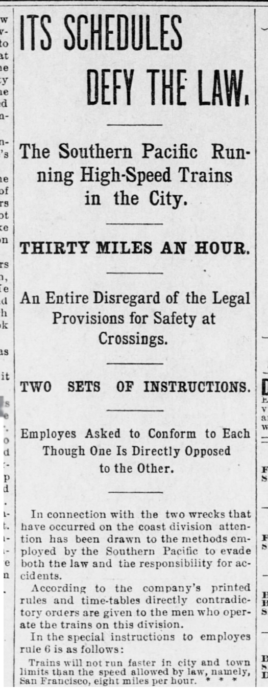 SF Call, 30 Jan 1896, p.14. This reporter did his homework.