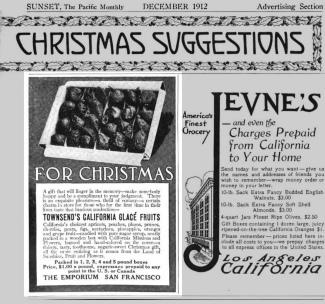 Sunset Magazine, December 1912.