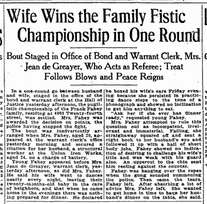 SF Chronicle, 2 July 1916, p.9.