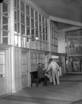 Inside Ingleside Jail, men's jail. From Inside Ingleside women's jail. From http://www.sfsdhistory.com/eras/the-ingleside-jail-photo-collection