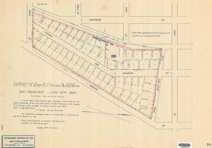 1854-Tiffany-Homestead-Map_1864-sm