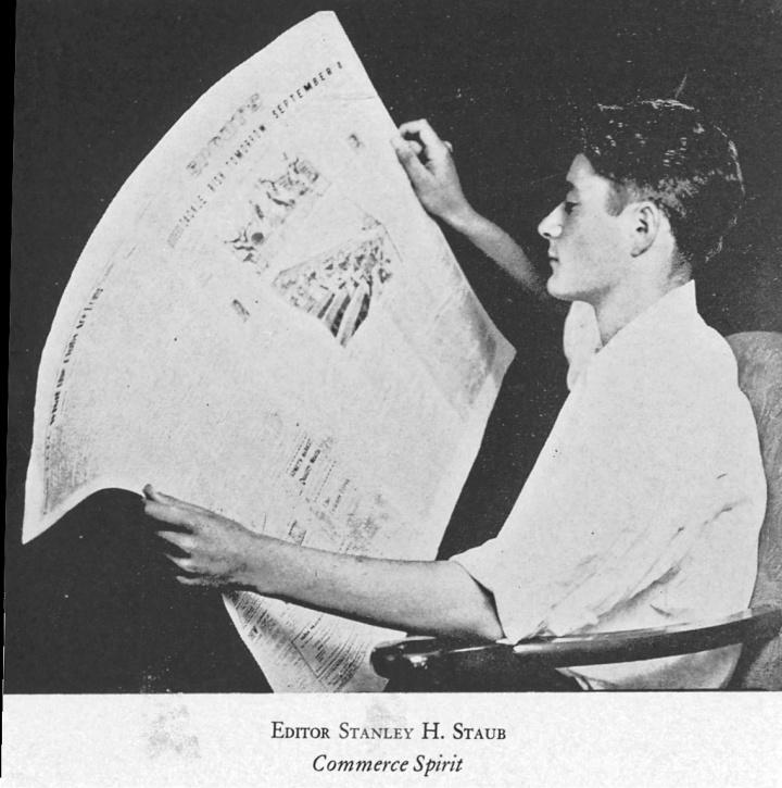 1934-Commerce-Yearbook-Stanley-Staub